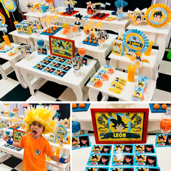Un genial cumple de Dragon Ball