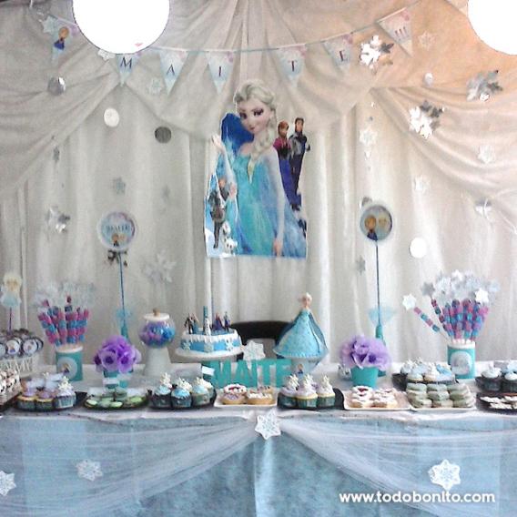 Mesa dulce de Frozen