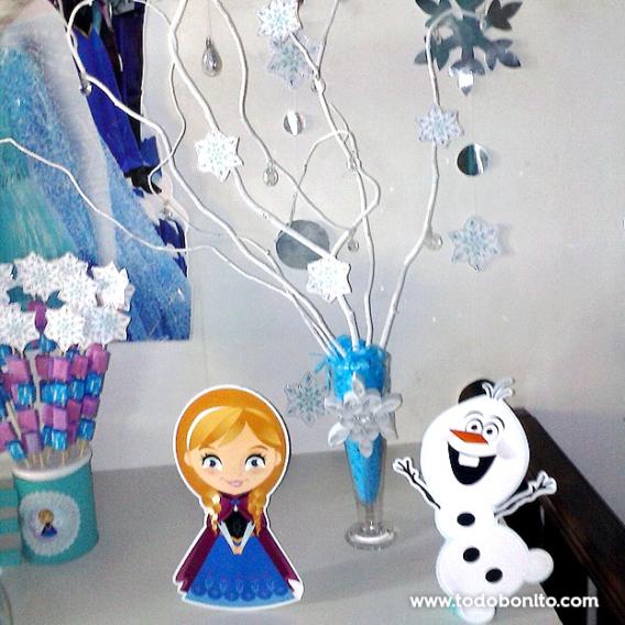 Adornos cumpleaños de Frozen