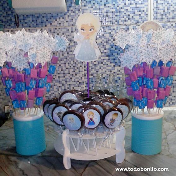 Golosinas cumpleaños de Frozen