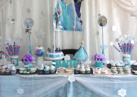 El cumple de Maite, una fiesta congelada!