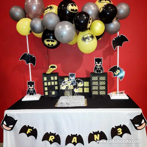 Mesa dulce de Batman