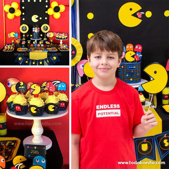 Ideas cumpleaños de Pacman