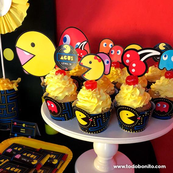 Cupcakes de Pacman