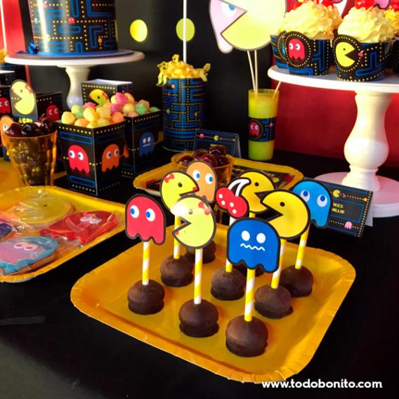 Cakepops de Pacman