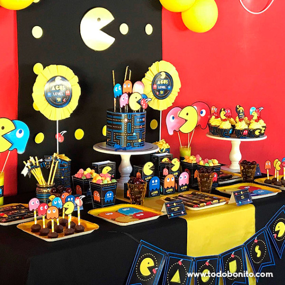 Ideas fiesta de Pacman