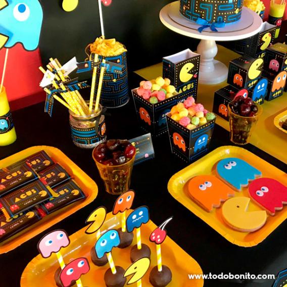 Mesa dulce de Pacman