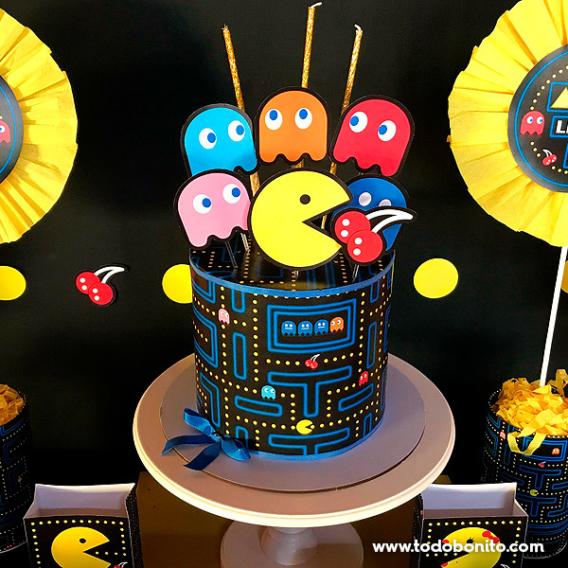 Torta de de Pacman