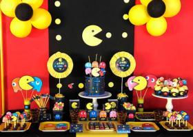 Los 9 años de Agus y su fiesta con Pacman