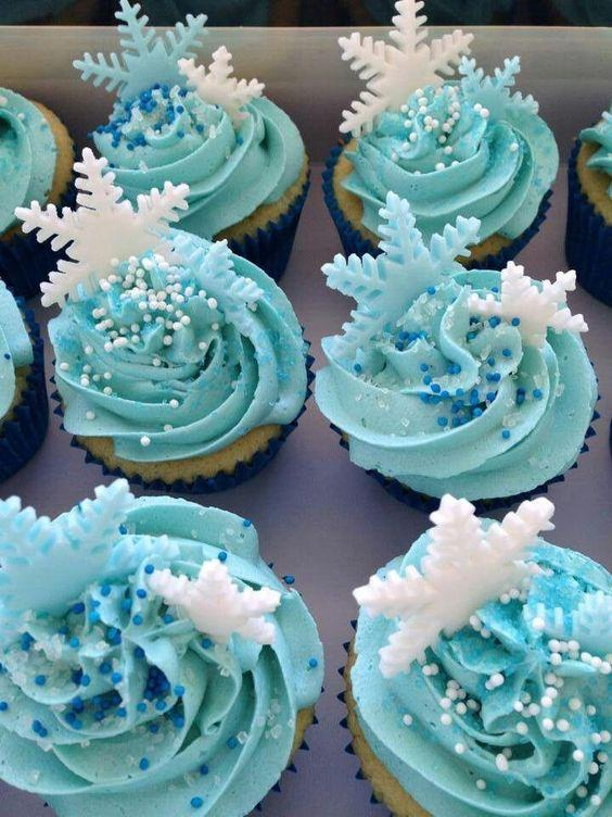 Ideas cupcakes de Frozen