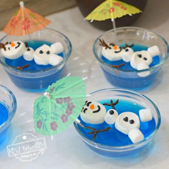 Ideas postres de Frozen