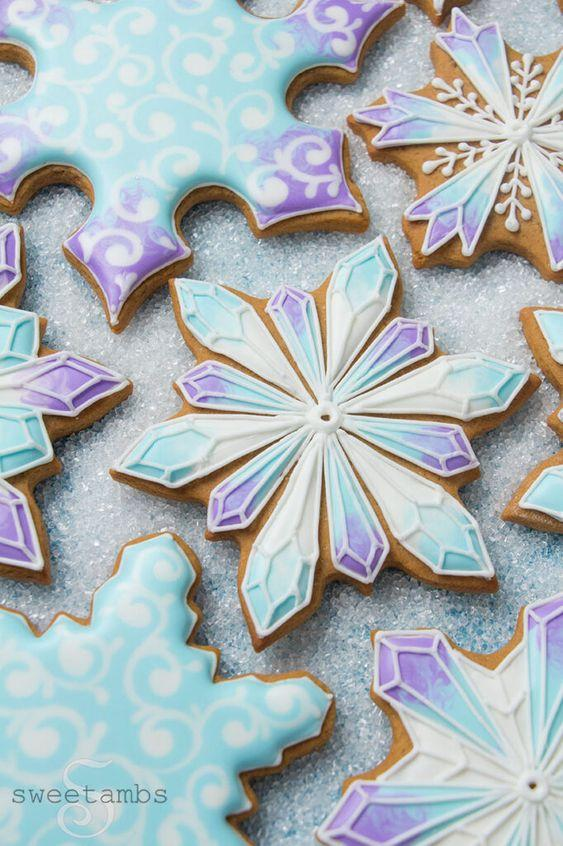 Galletas decoradas fiesta de Frozen