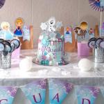 El cumple de Frozen de Guadi