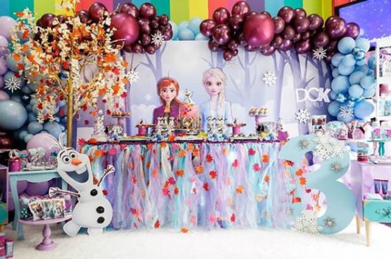 Ideas para una fiesta de la película Frozen 2