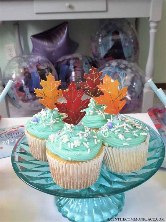 Ideas cupcakes Frozen 2