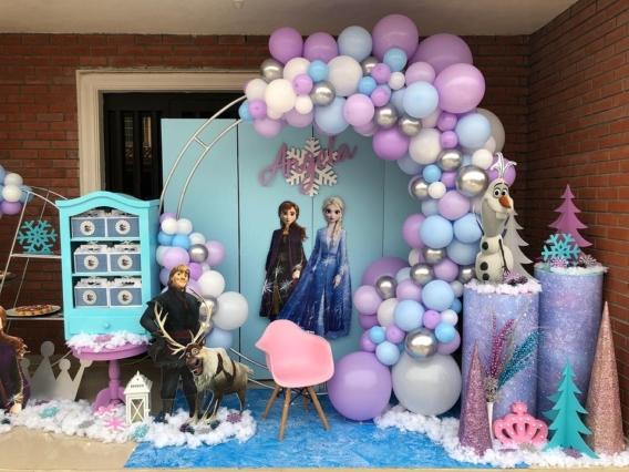 Ideas backdrop Frozen 2