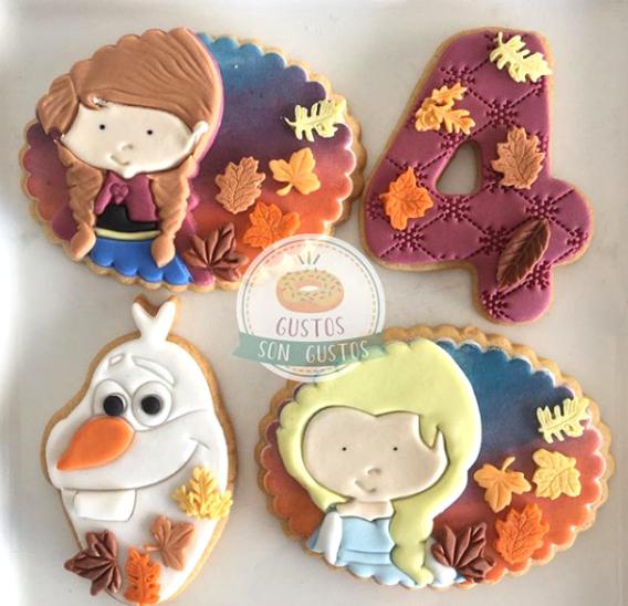Ideas galletas decoradas Frozen 2
