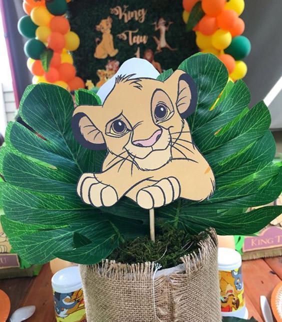 Ideas para una fiesta de El Rey León