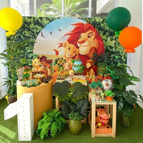 Cumpleaños de El Rey León