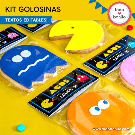Kit golosinas de Pacman