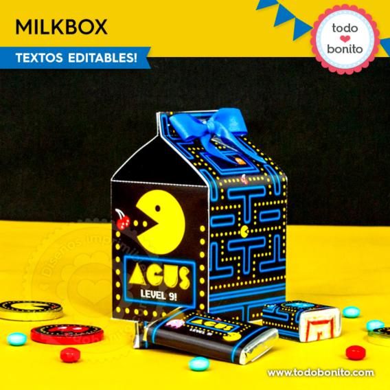 Milkbox de Pacman por Todo Bonito