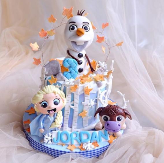Ideas torta decorada Frozen 2