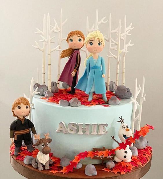Torta de Frozen 2