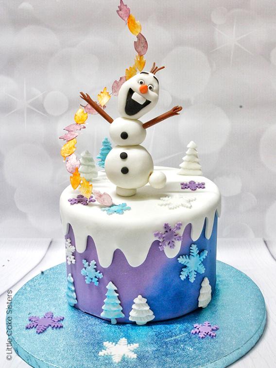 Tortas de Frozen 2 Olaf