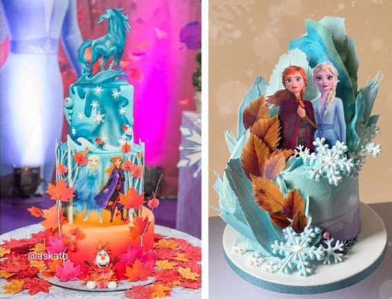 Tortas de Frozen 2
