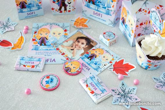 Kit Imprimible Frozen 2 todos los personajes