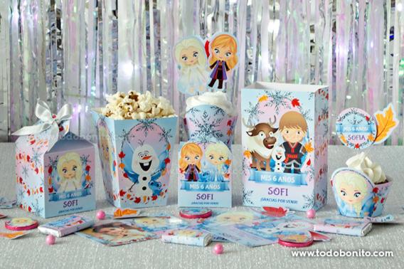 Kit Imprimible Frozen 2 por Todo Bonito