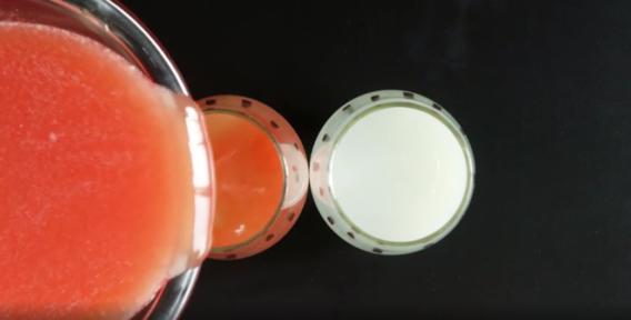 Deliciosos vasos de Sandía