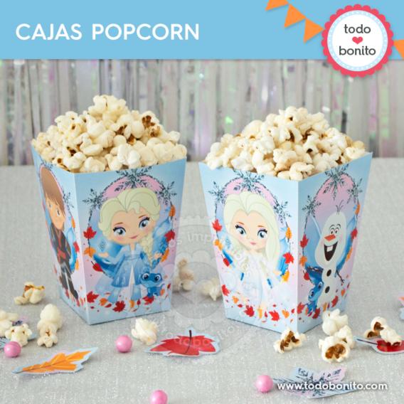 Cajas popcorn Frozen 2