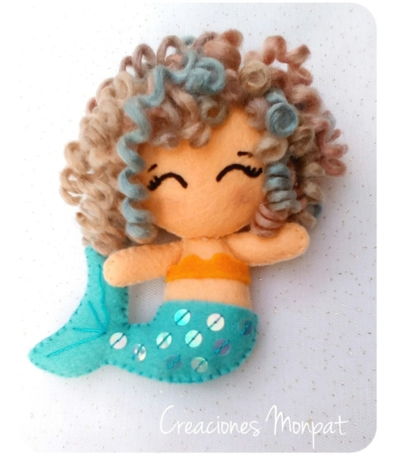 Sirena de tela