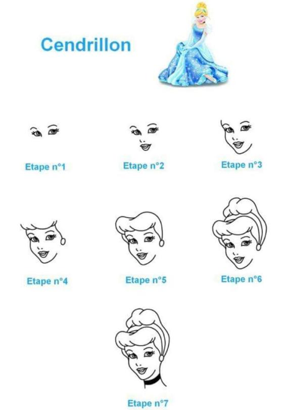 Como dibujar a Cenicienta