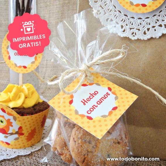 Mini kits imprimibles gratis primavera y otoño
