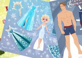 Muñecas y muñecos de papel para vestir gratis Parte 1