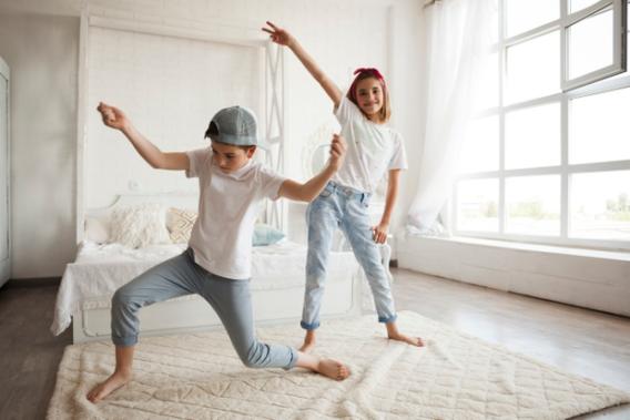 Niño coreografia