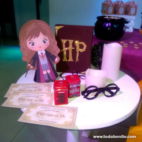 Ideas fiesta de Harry Potter