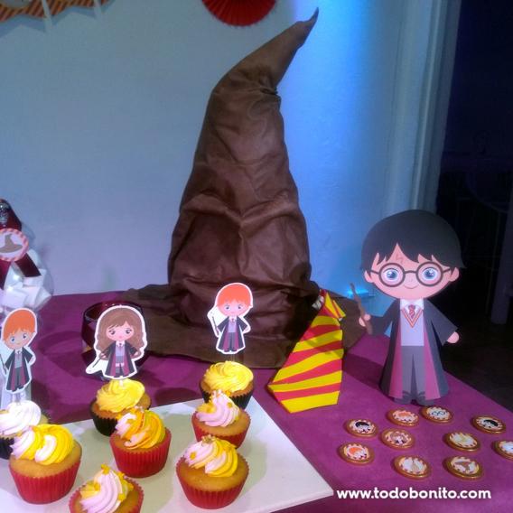Sombrero Seleccionador fiesta de Harry Potter