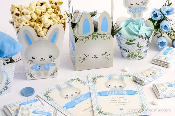 Diseños para imprimir de conejitos