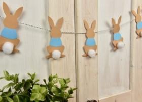 Ideas para una decoración de fiesta con conejitos celestes