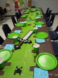 Ideas para una fiesta de Minecraft