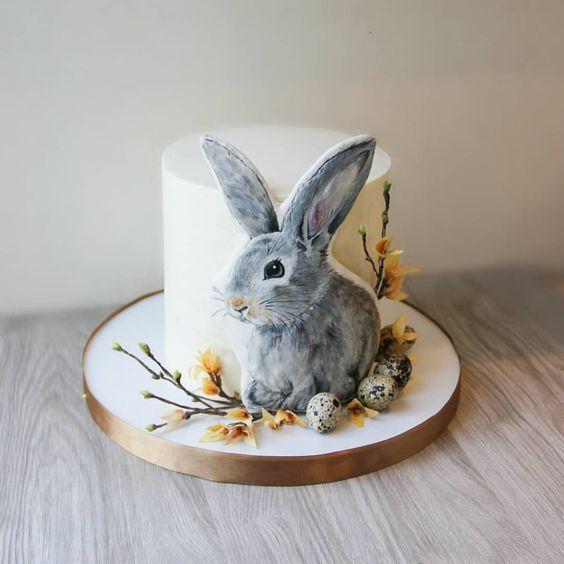 Ideas de tortas con conejitos