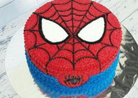 Increíbles tortas del Hombre Araña