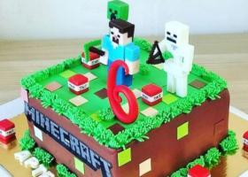 Las más creativas Tortasde Minecraft