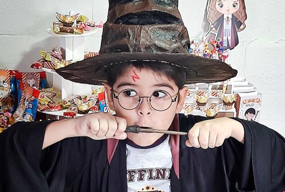 Un cumple al estilo Hogwarts para Rami
