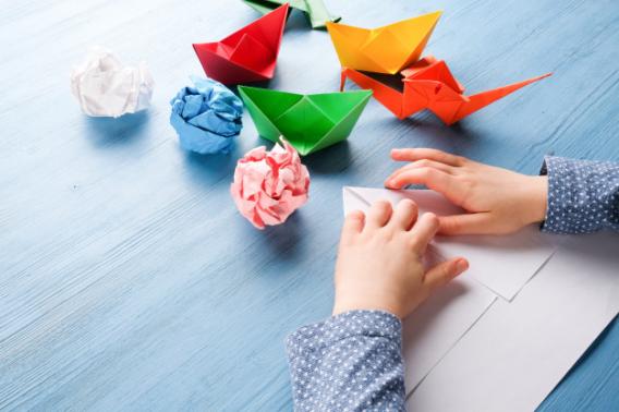 Taller de origamis