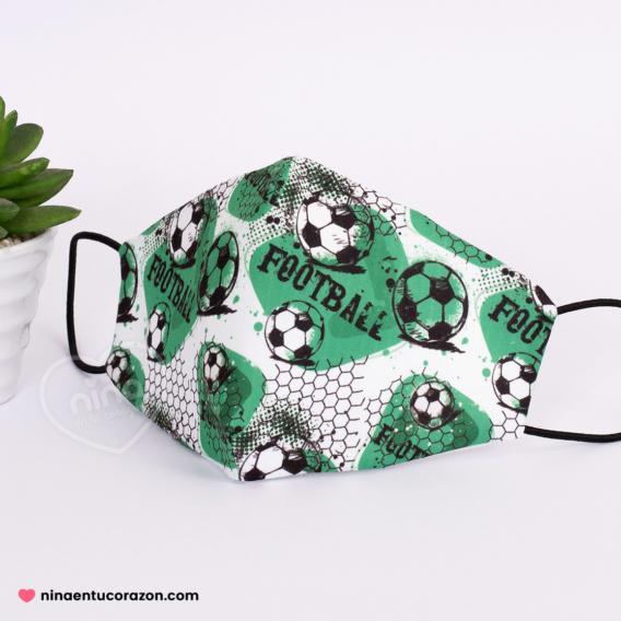 Cubrebocas futbol