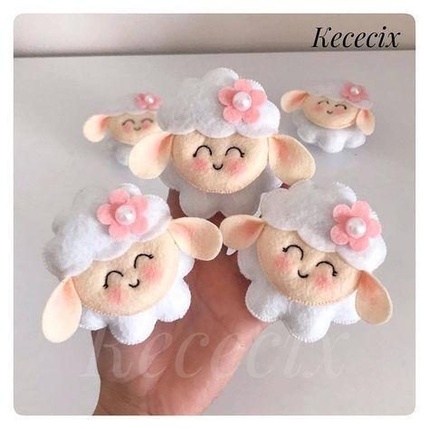Souvenirs de ovejas para niña